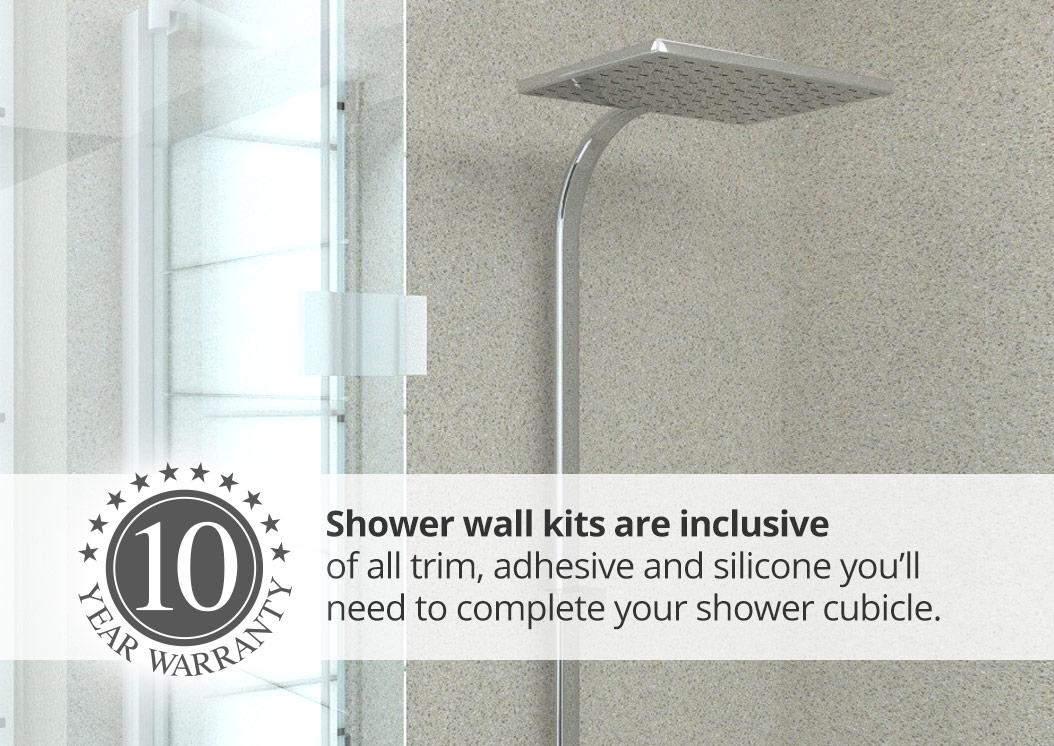 aquabord laminate shower wall kit