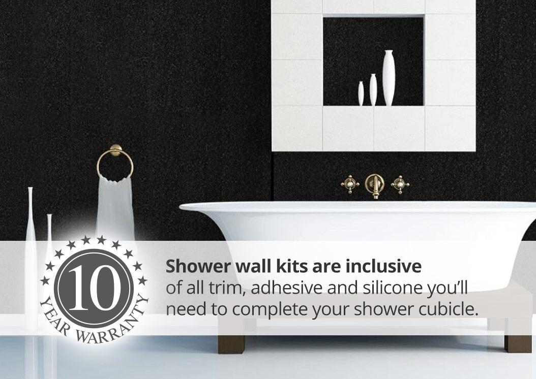 Aquabord Laminate Shower Panel Kits