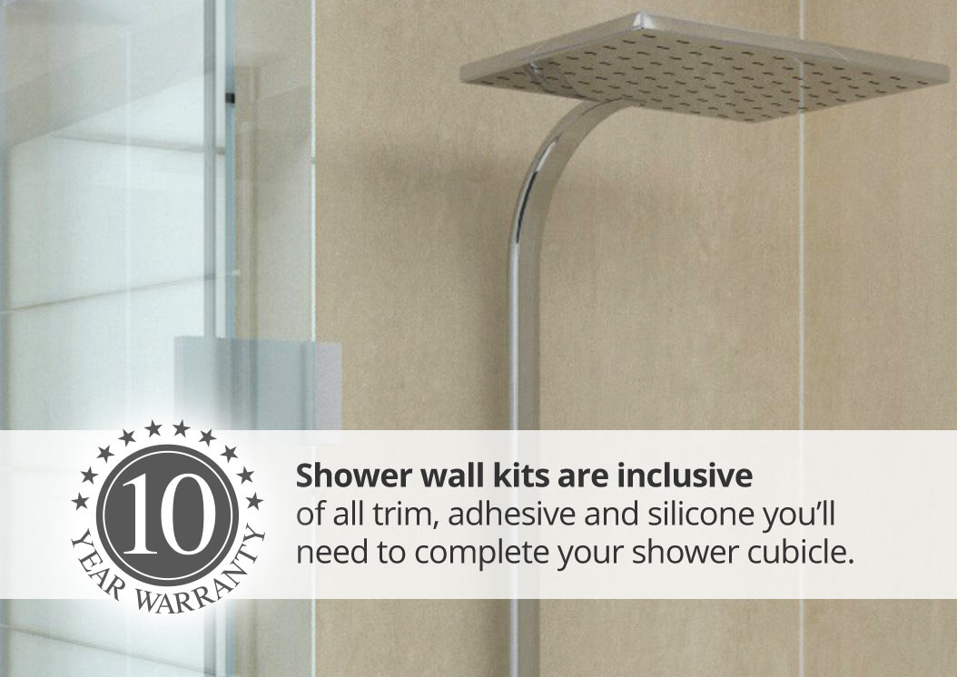 Aquawall shower kits