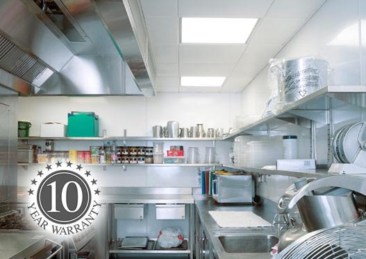 hygienic ceiling tiles
