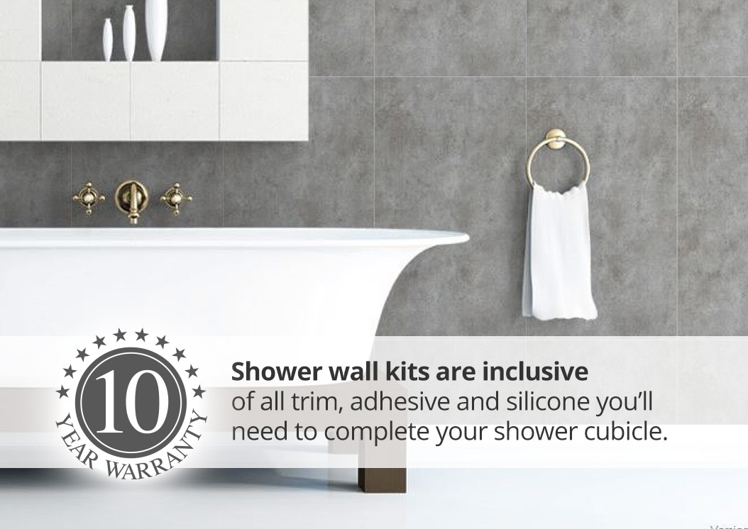 proclad shower wall panel kits