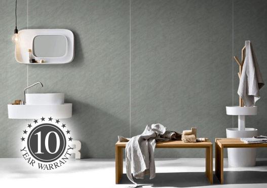 stone bathroom laminate panels