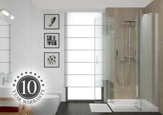 Marble laminate wall panels