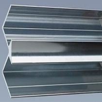 Aquabord Internal Corner - Satin Chrome