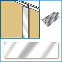 Chrome Joint Trim - wall panels