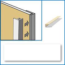 Waterproof panel edge trim