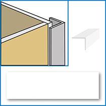 Aquabord External Corner (25mm) - white