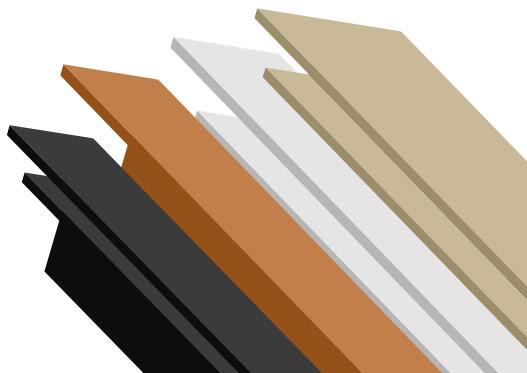 trims for aquabord pvc wall panels
