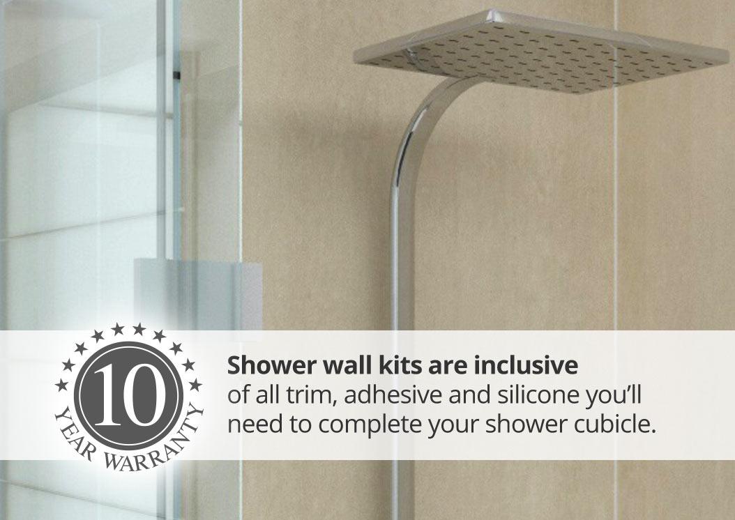 Aquawall shower kits