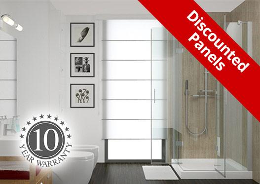 bathroom wall panels discounted