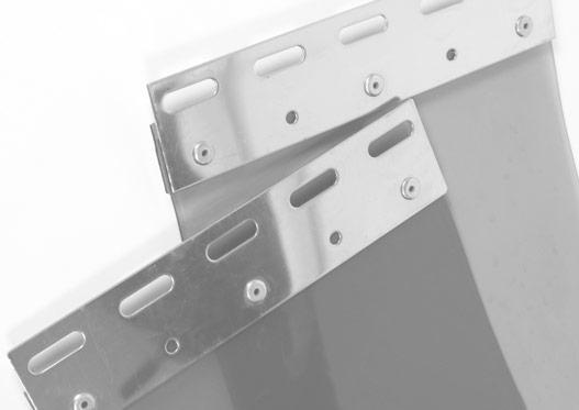 flexible strip curtain door kits
